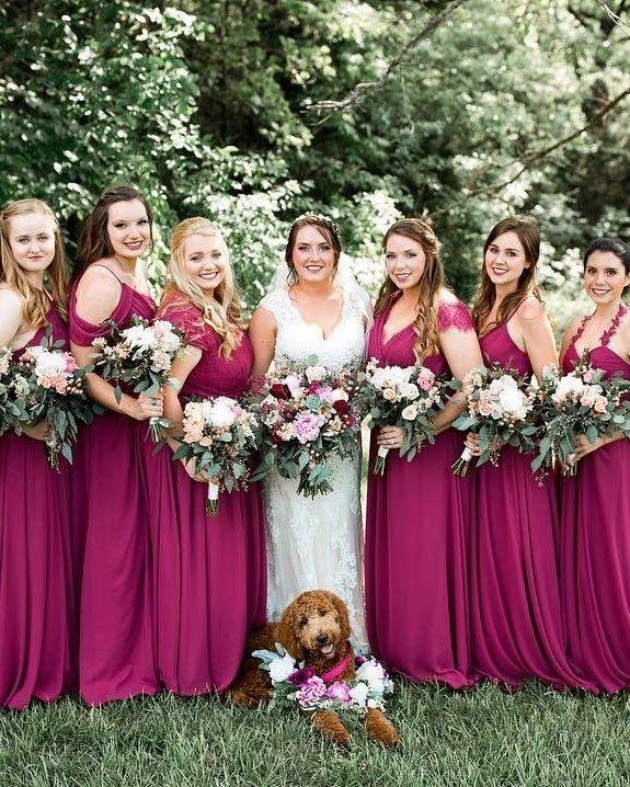 Bridesmaids Photoshoot with Bride
