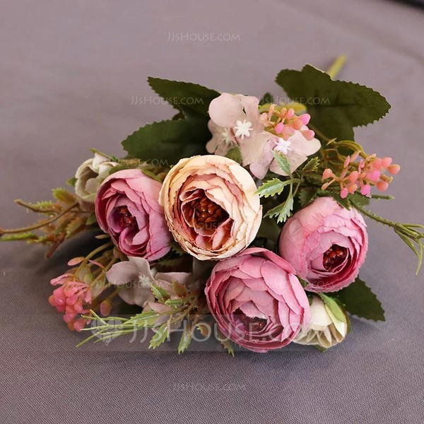 Colorful Free-Form Silk Flower Decorations/Wedding Table Flowers