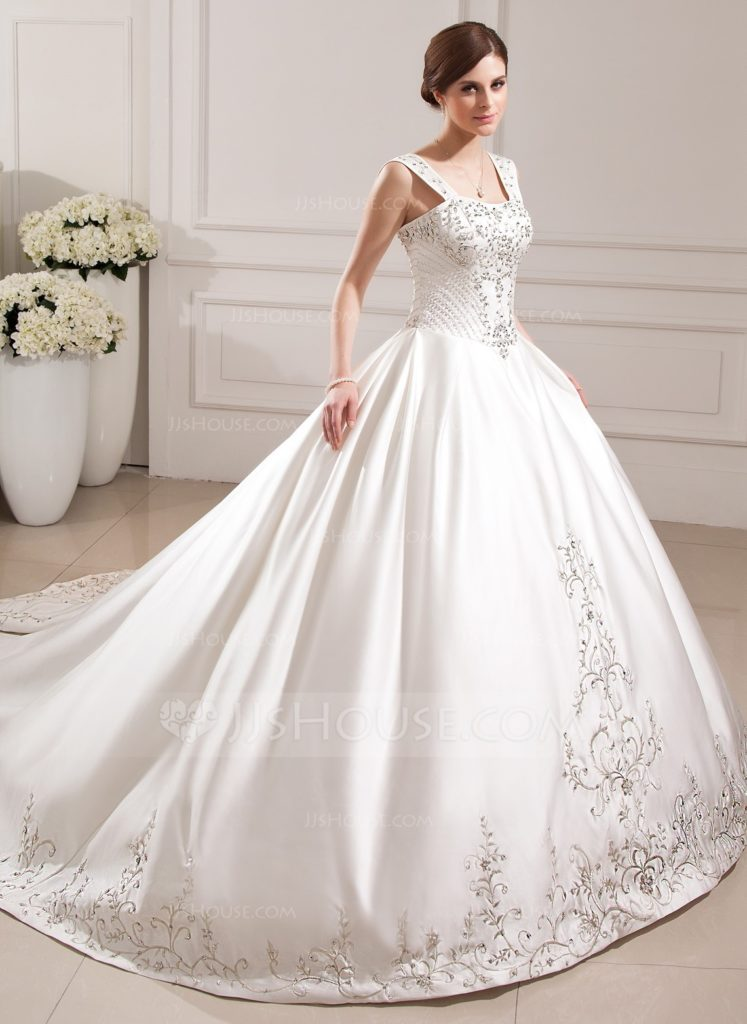 5 Popular Fabrics Used In The Making Of Ball Gown Wedding Dresses Jjshouse