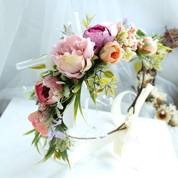 Ladies Special Silk Flower Headbands