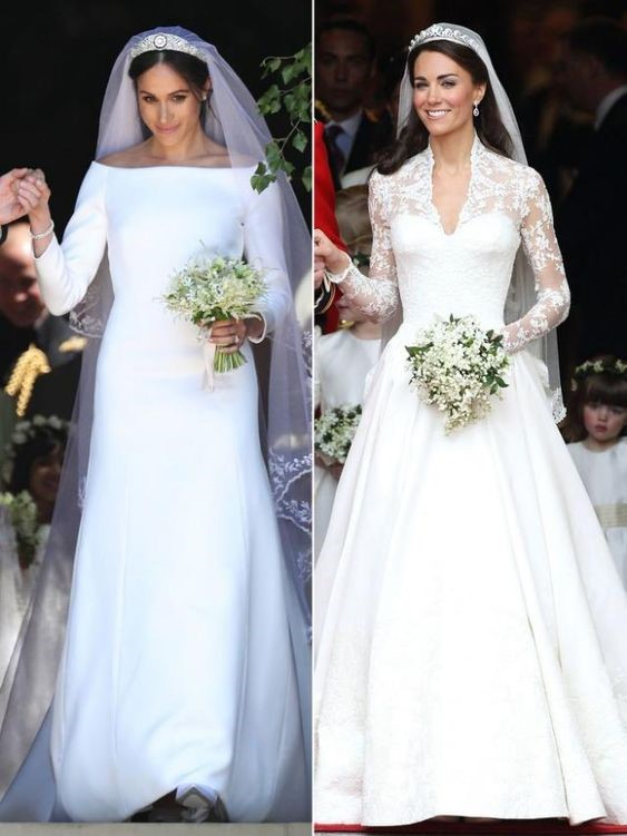 Meghan Markle and Kate Middleton as today's royal trendsetters and fashion inspirations