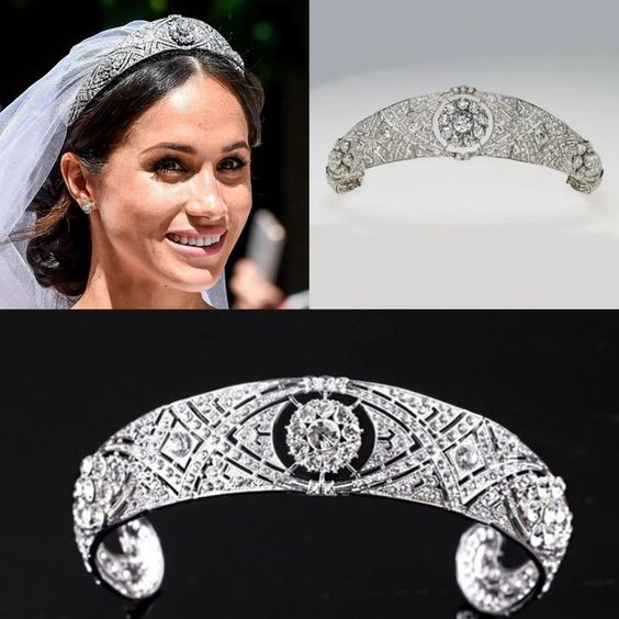 Queen Mary's Diamond Tiara Worn By Markle during the Big Day