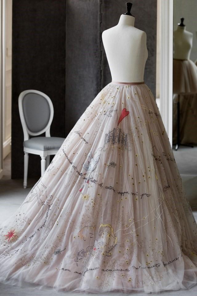 The Blonde Salad Icon's Fabulous & Customized Wedding Skirt