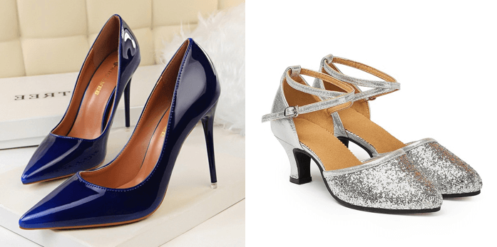 Lovely shoes to pair with your party dresses