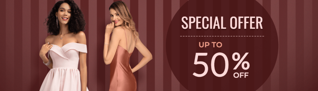 Special Offer Up to 50% Off
