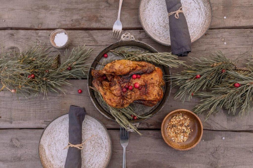 Thanksgiving turkey banquet